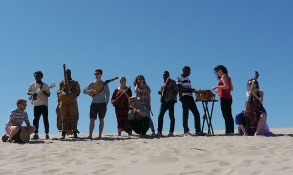 Conservatoire national de musique et de danse de Lyon (France) avec des étudiants du Camm et de l'INA.