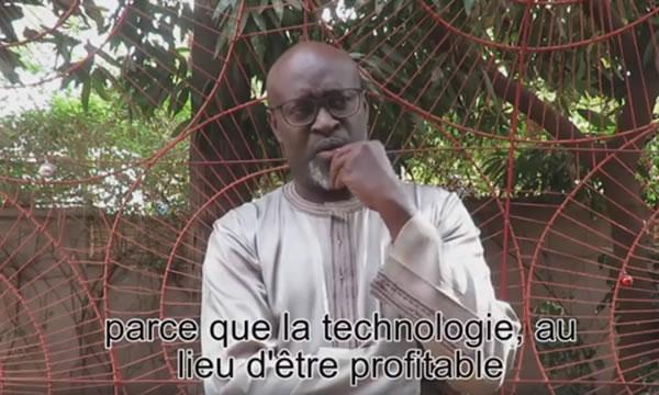 Cheick Diallo expose «Le grin mobile»  à la Cité de l'Architecture en France
