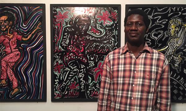 Boubacar Tangara dit Kokè: il dessine la joie de vivre