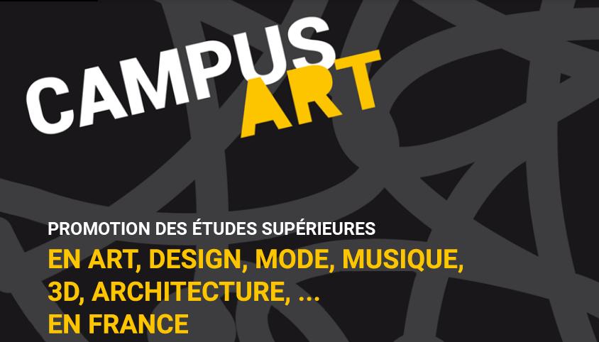 CampusArt : ouverture des candidatures en ligne pour étudiants internationaux