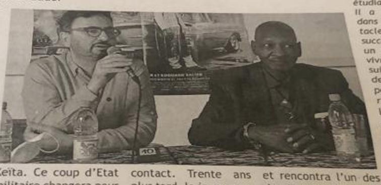 Africa Mia dans le journal Le Républicain